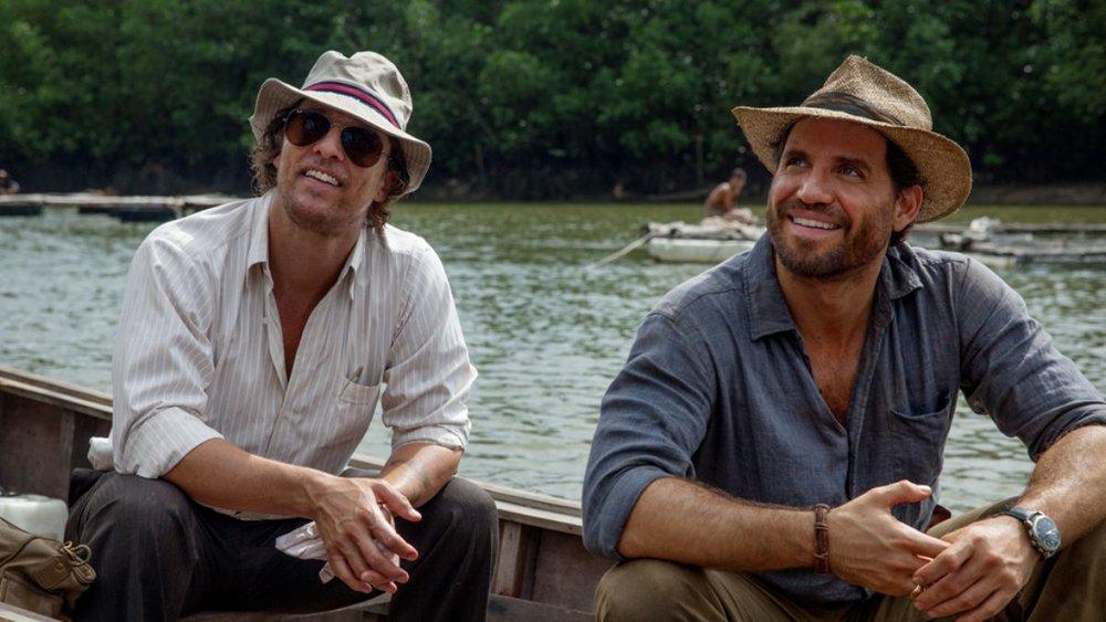 Geo-dudes Kenny Wells (Matthew McConaughey) and Michael Acosta (Édgar Ramírez)