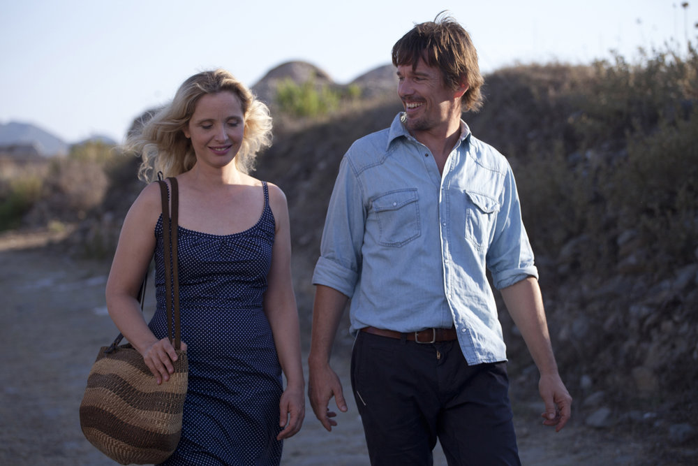 Delpy  and  Hawke in  Before Midnight