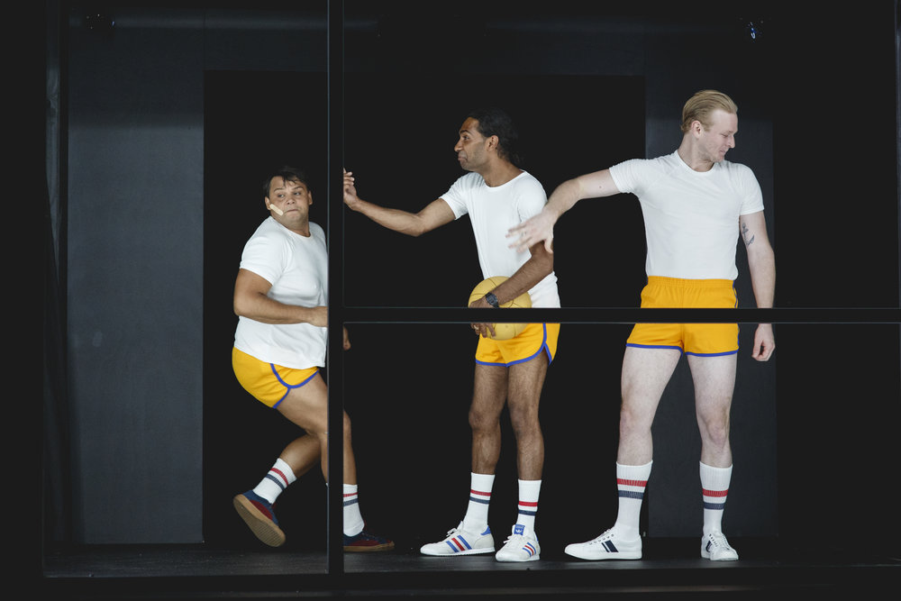 Ian Michael. Clarence Ryan and Rory O'Keeffe. Let_The_Right_One_In-50. Photo credit Daniel J Grant.jpg