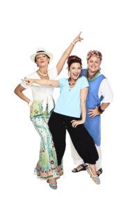 Alicia Gardiner, Natalie O'Donnell, Jayde Westaby