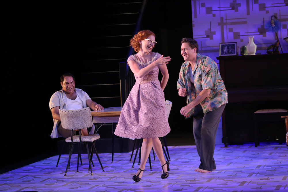 0J1A9267.Kelton Pell. Mackenzie Dunn.Jacob Allan. Summer of the Seventeenth Doll. image Philip Gostelow.JPG