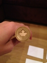 Maple Leaf Wax Seal Stamp