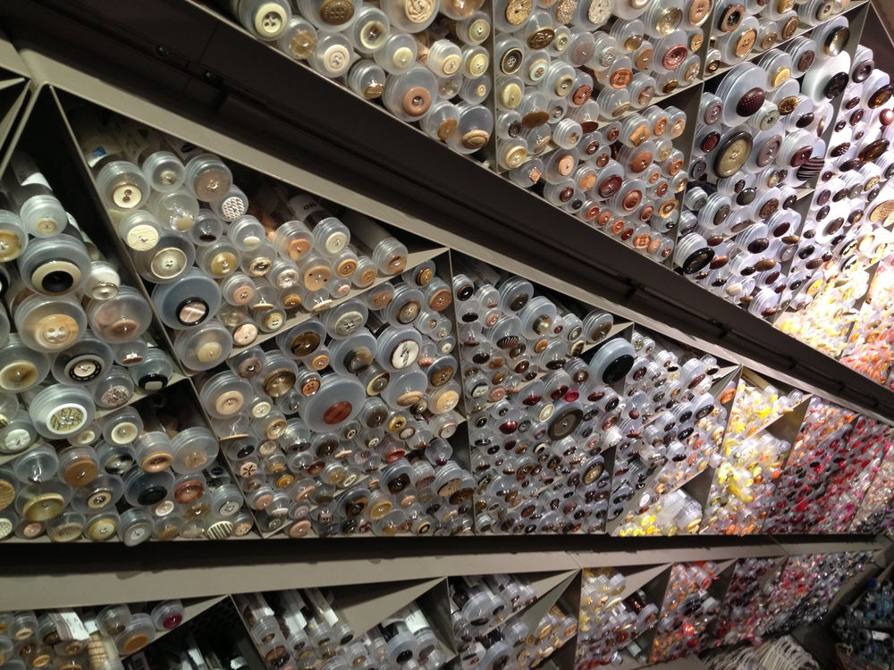 Buttons galore…..