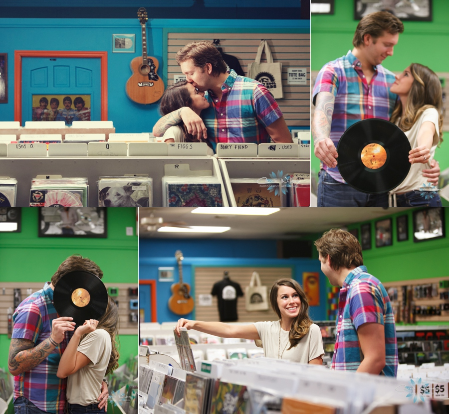 8_12_13 St. Pete Record Store Engagement Session_0001.jpg