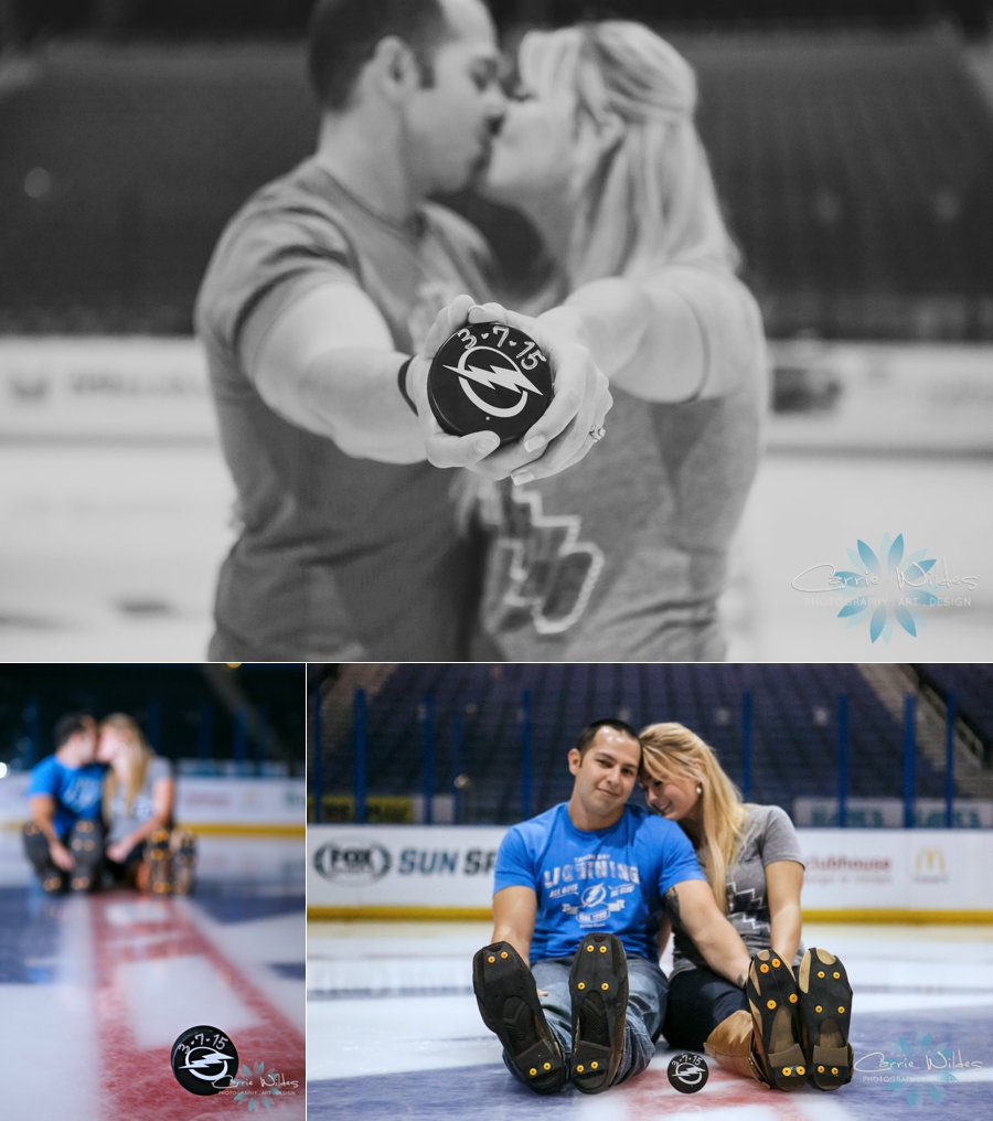 10_1_14 Tampa Bay Lightening Engagement Session Amalie Arena_0001.jpg