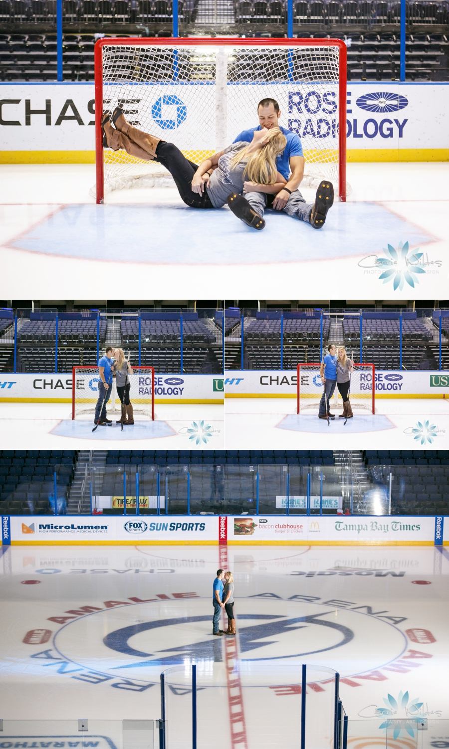 10_1_14 Tampa Bay Lightening Engagement Session Amalie Arena_0004.jpg