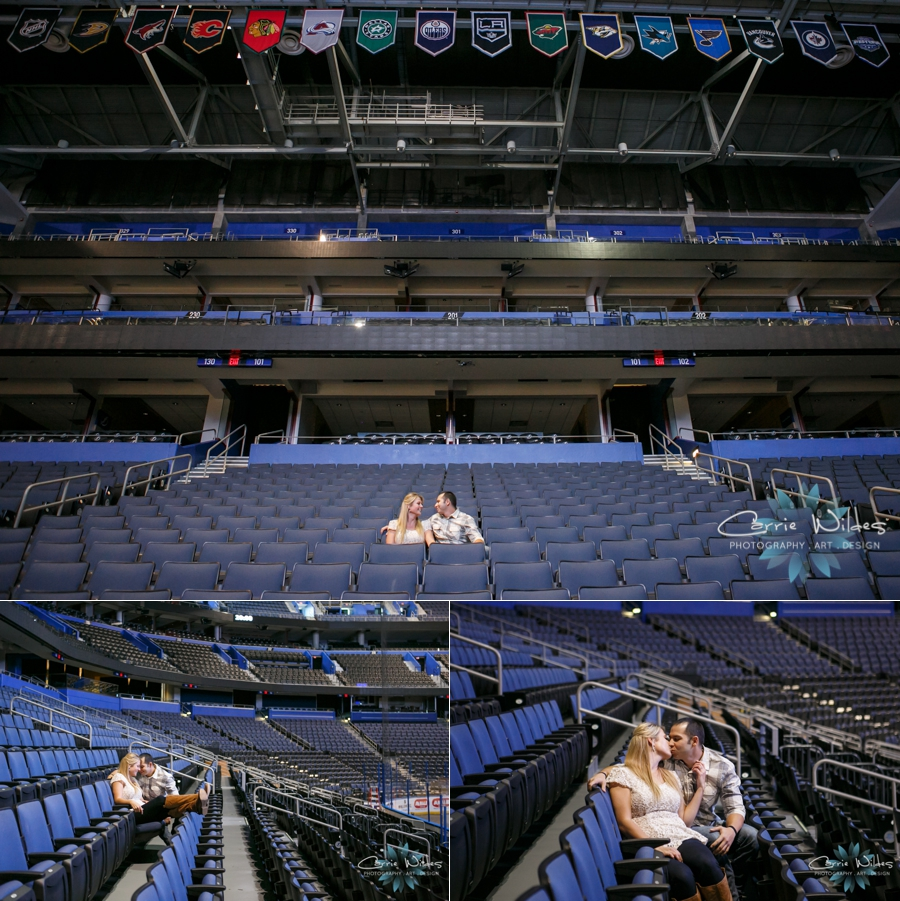 10_1_14 Tampa Bay Lightening Engagement Session Amalie Arena_0005.jpg