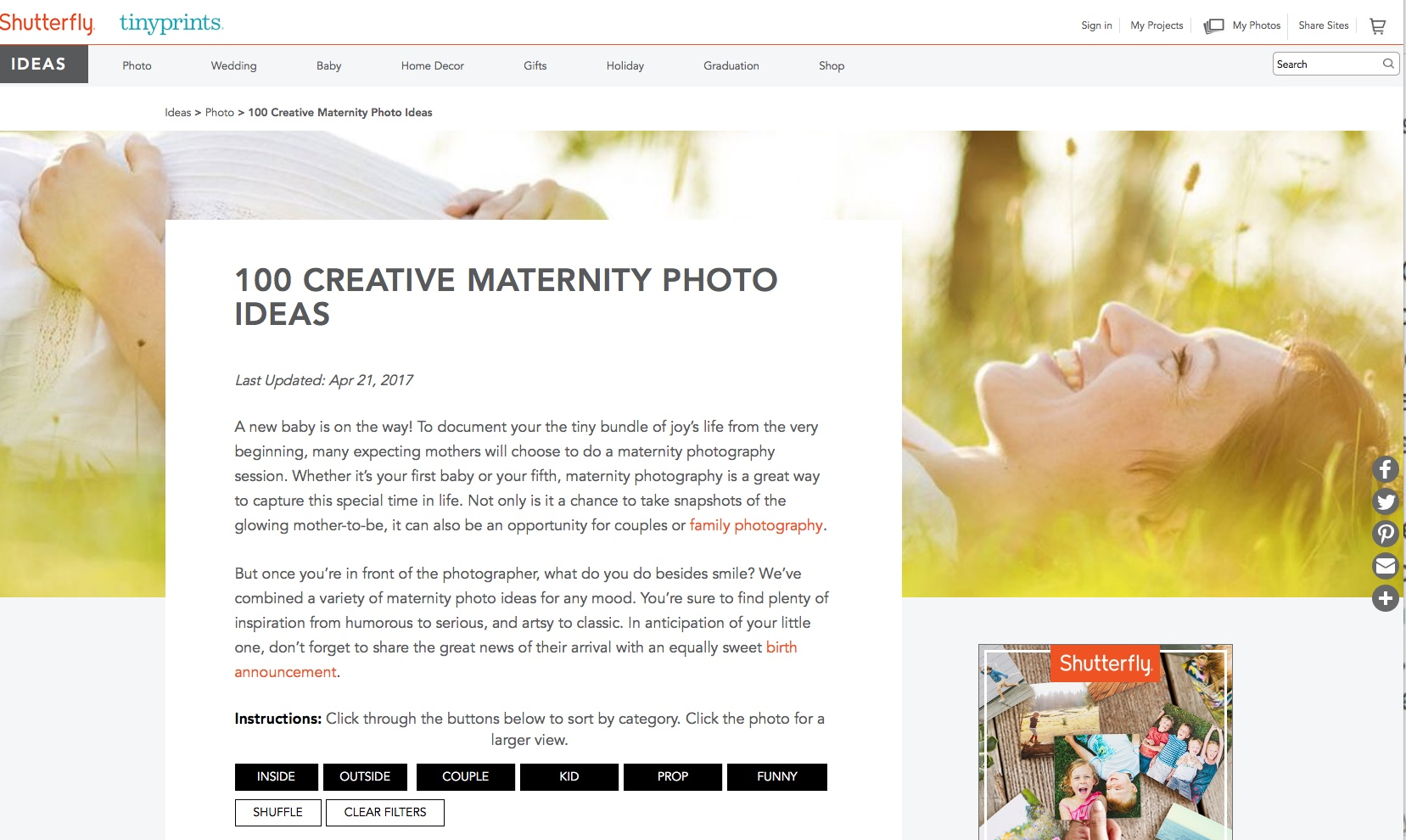 Lyani & Darren on 100 Creative Maternity Photo Roundup — carrie ...