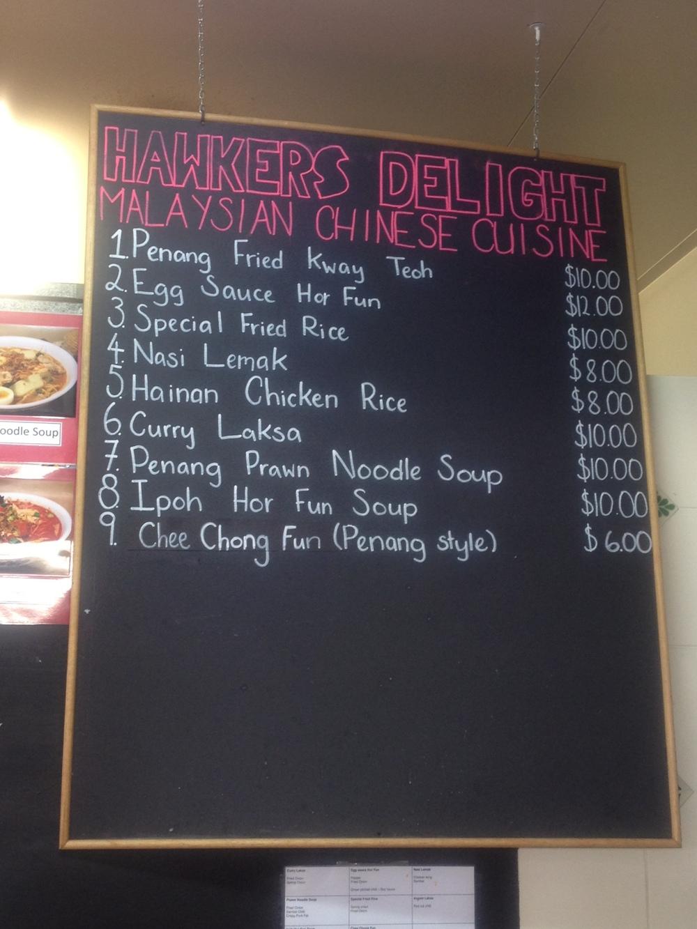 Hawkers Delight Subiaco