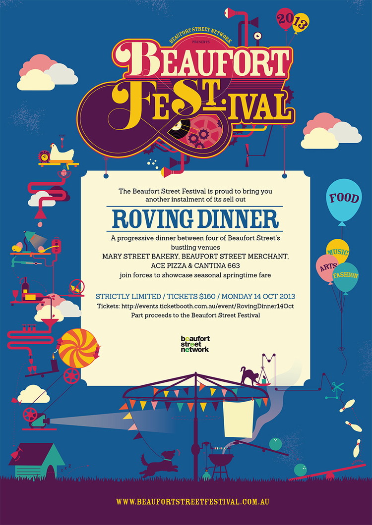 Food Director, Beaufort Street Festival