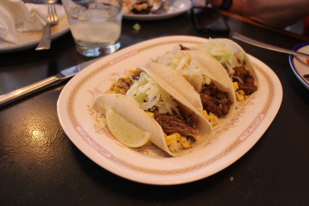 Oh duck tacos  … you make me so happy!