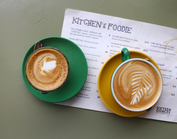 The crew here use Five Senses Coffee and always put on a good brew. We had a long mac (topped up) and flat white.