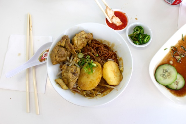 Curry chicken noodle - $10.80