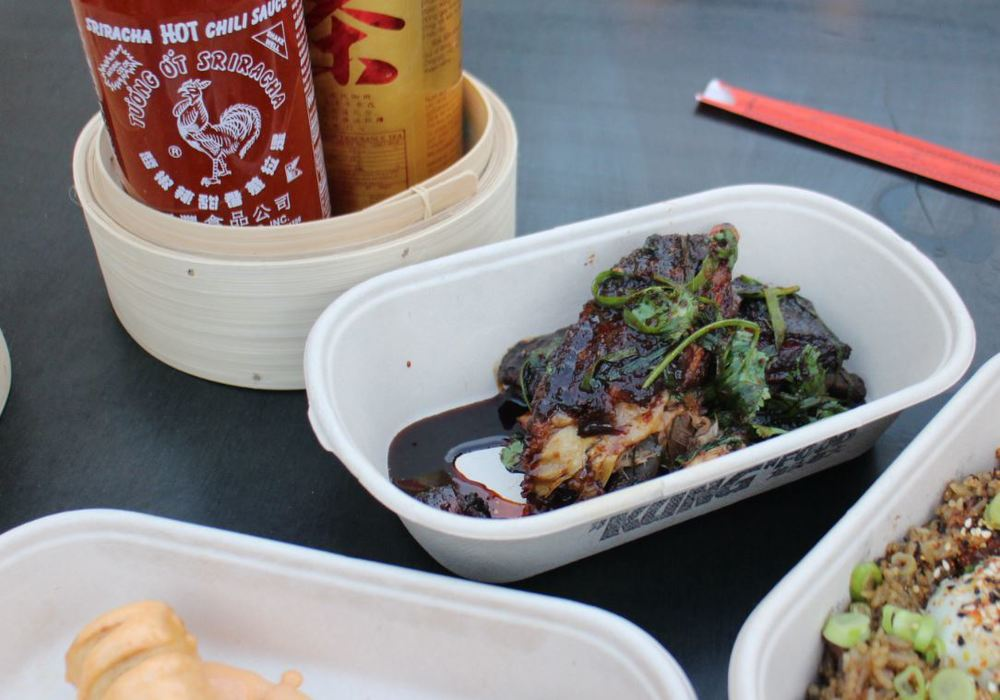 Juicy juicy hot and sour lamb ribs. Make sure you have a wad of serviettes handy for those sticky fingers!