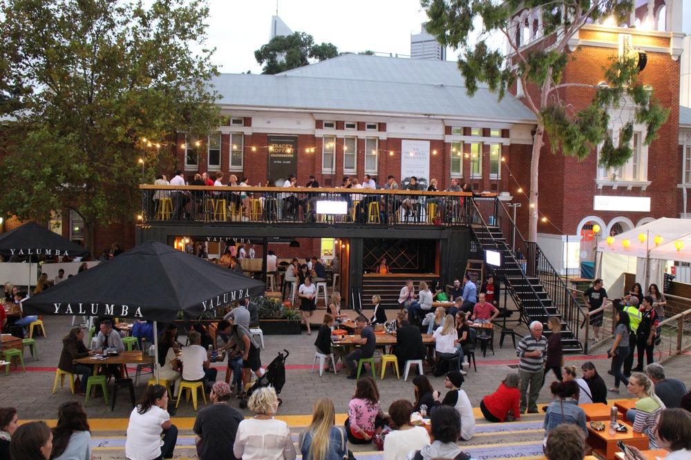 Night Noodle Markets Cultural Centre Perth