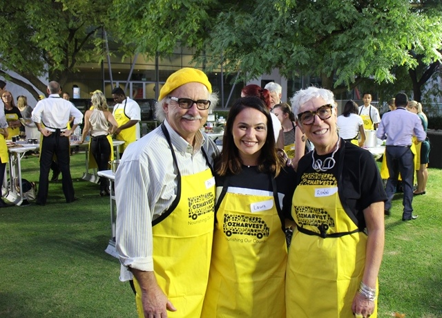 OzHarvest cooking class
