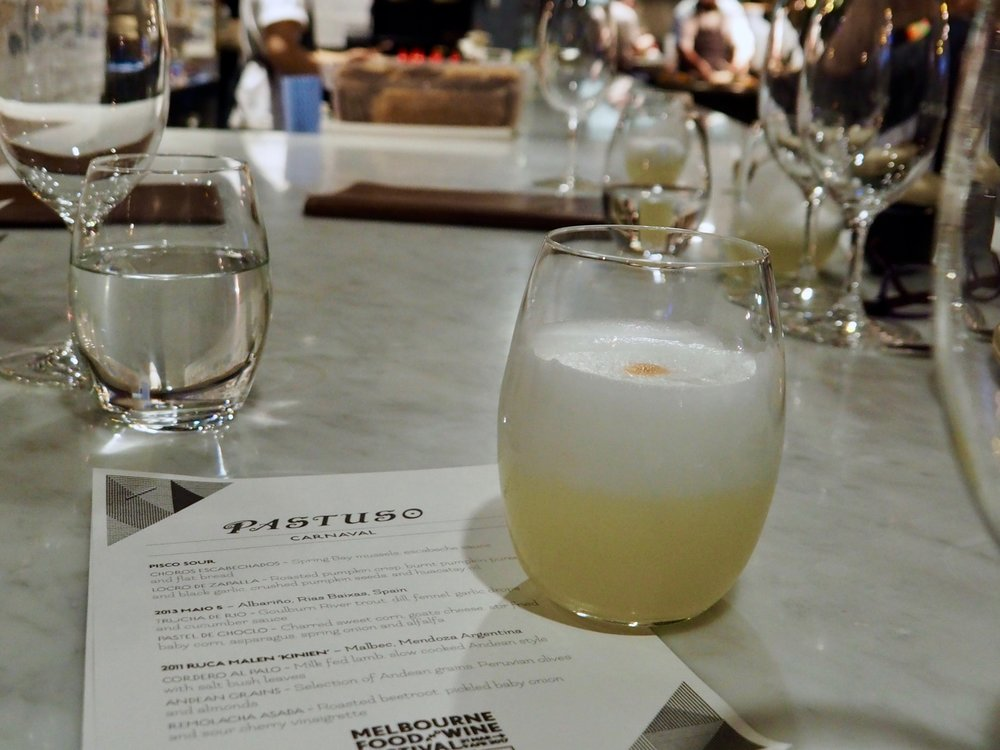 Peru's signature cocktail - the Pisco Sour! Create your own using  this recipe  in your Thermomix. Perfect for your next dinner party or Saturday night in.  Want to know more? Uncover the history of this drink on the  Pisco Trail .