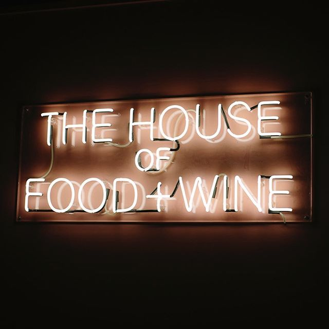 The House of Food & Wine #MFWF