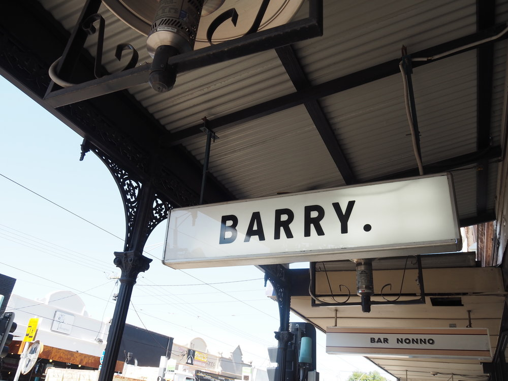Barry breakfast cafe Northcote