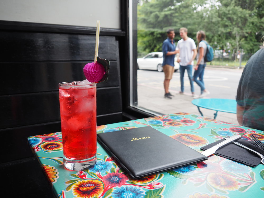 Hibiscus soda