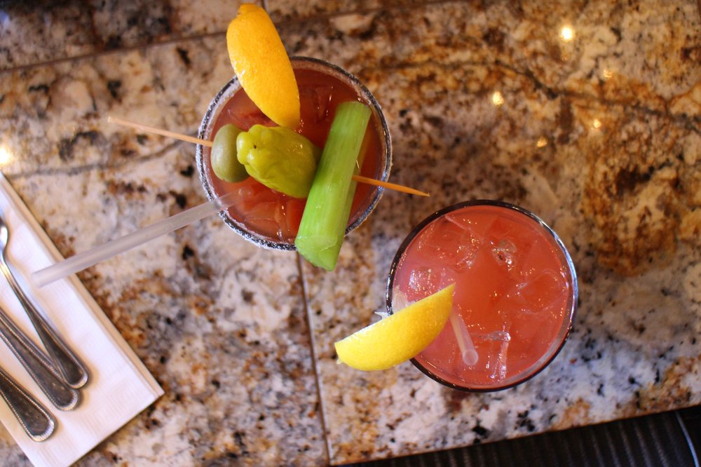 Mother's Famous Bloody Mary | house-infused pepper & jalapeño vodka with our secret bloody concoction
