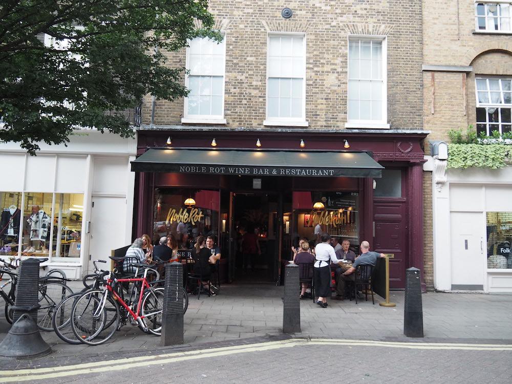Noble Rot Wine Bar London