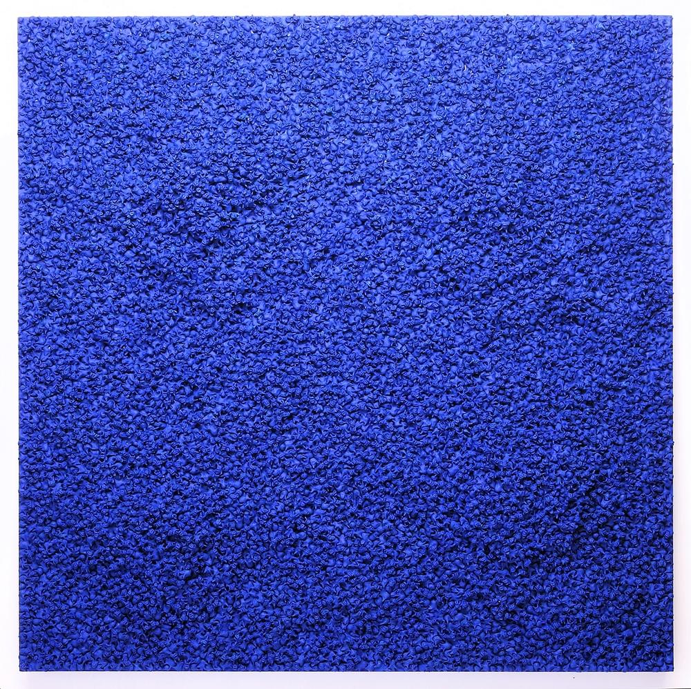 "Blue People 36""x 36"""