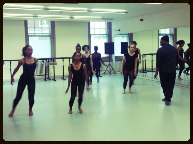 Contemporary dance workshop with Namron, OBE