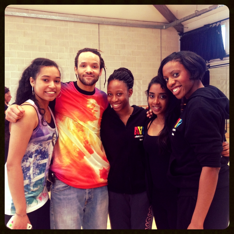 With Savion Glover