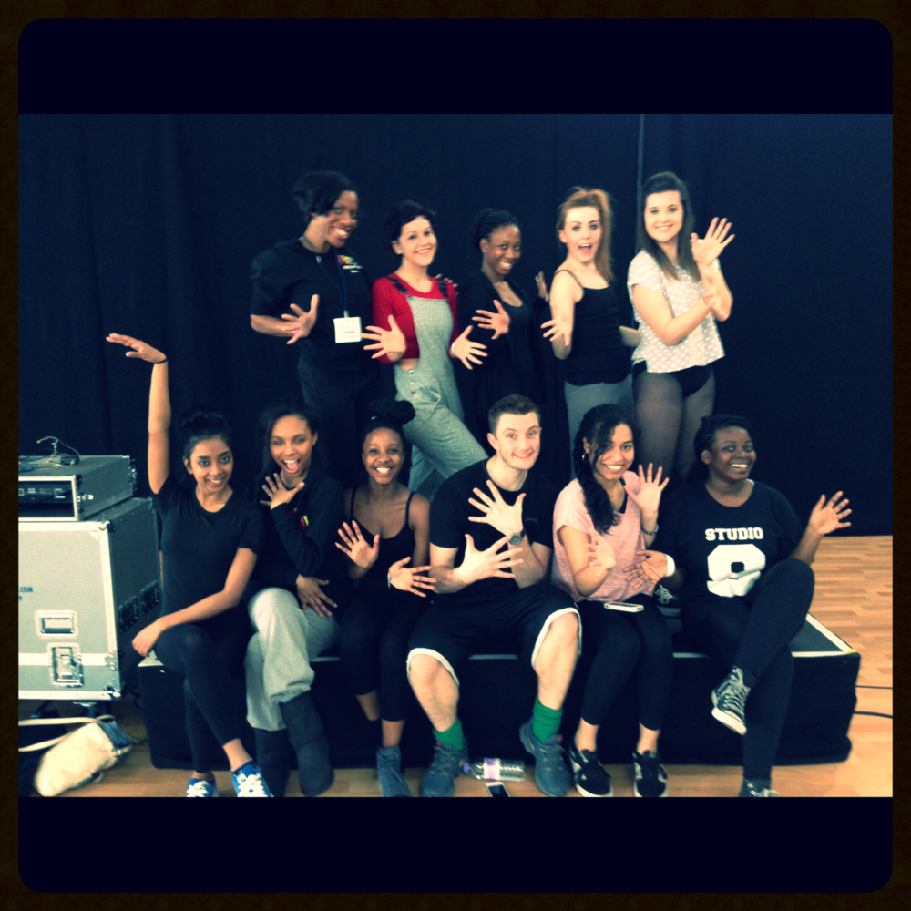 Musical Theatre workshop led by Stella Mann College