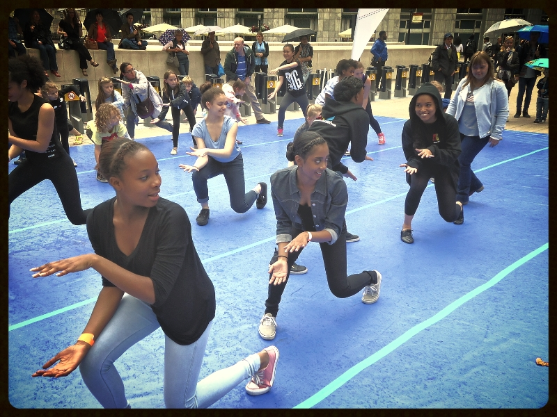 'Beats For Peace'  Dance Workshop at Big Dance  'Youth Dance Day'  2014
