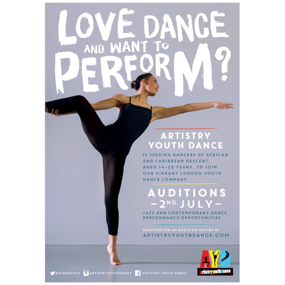 Artistry youth Dance audition
