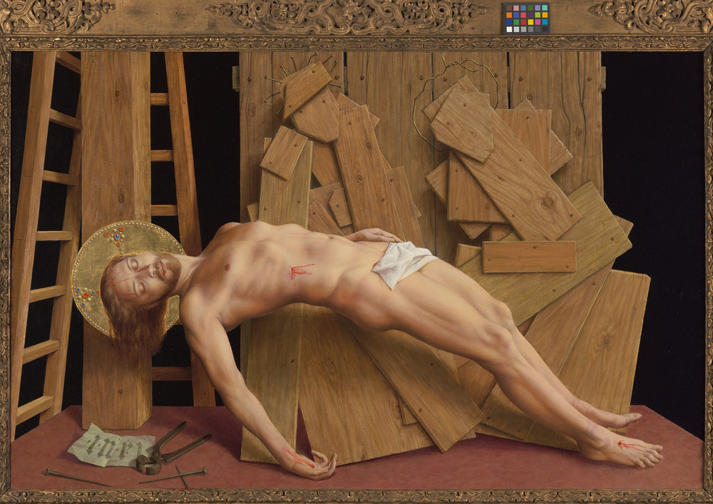 Michael Triegel, Am Kreuz (große Version), 2008