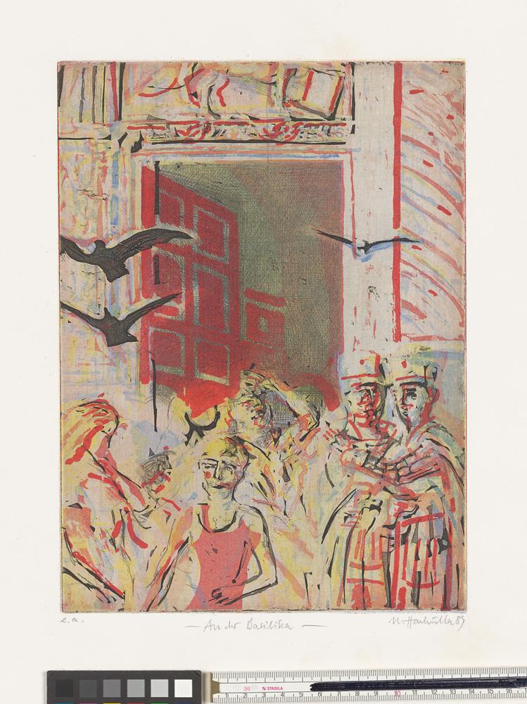 Ulrich Hachulla, An der Basilika, 1989