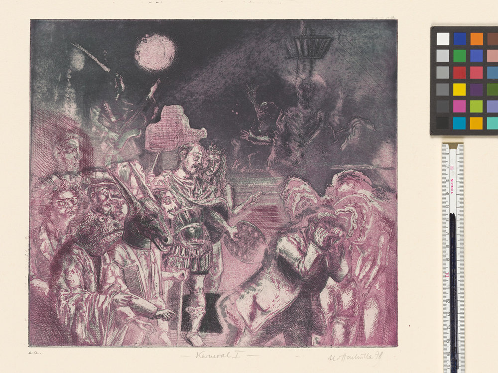 Ulrich Hachulla, Karneval I, 1978