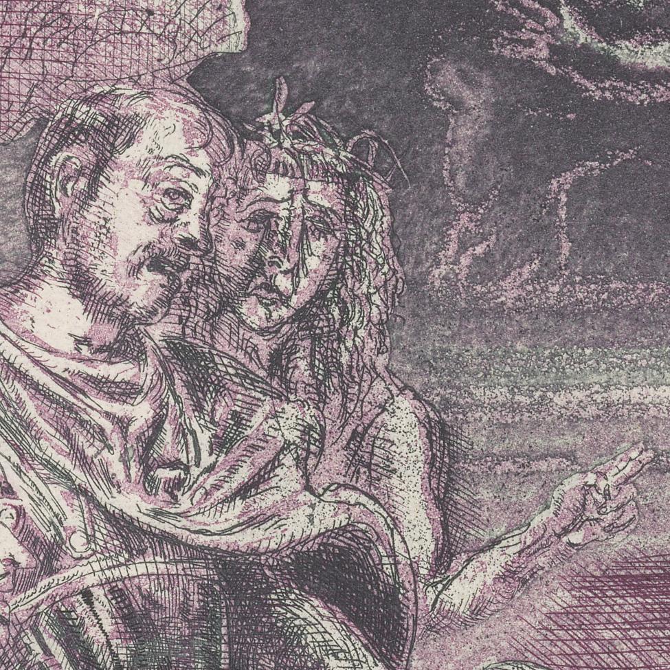Ulrich Hachulla, Karneval I, 1978 (Detail)