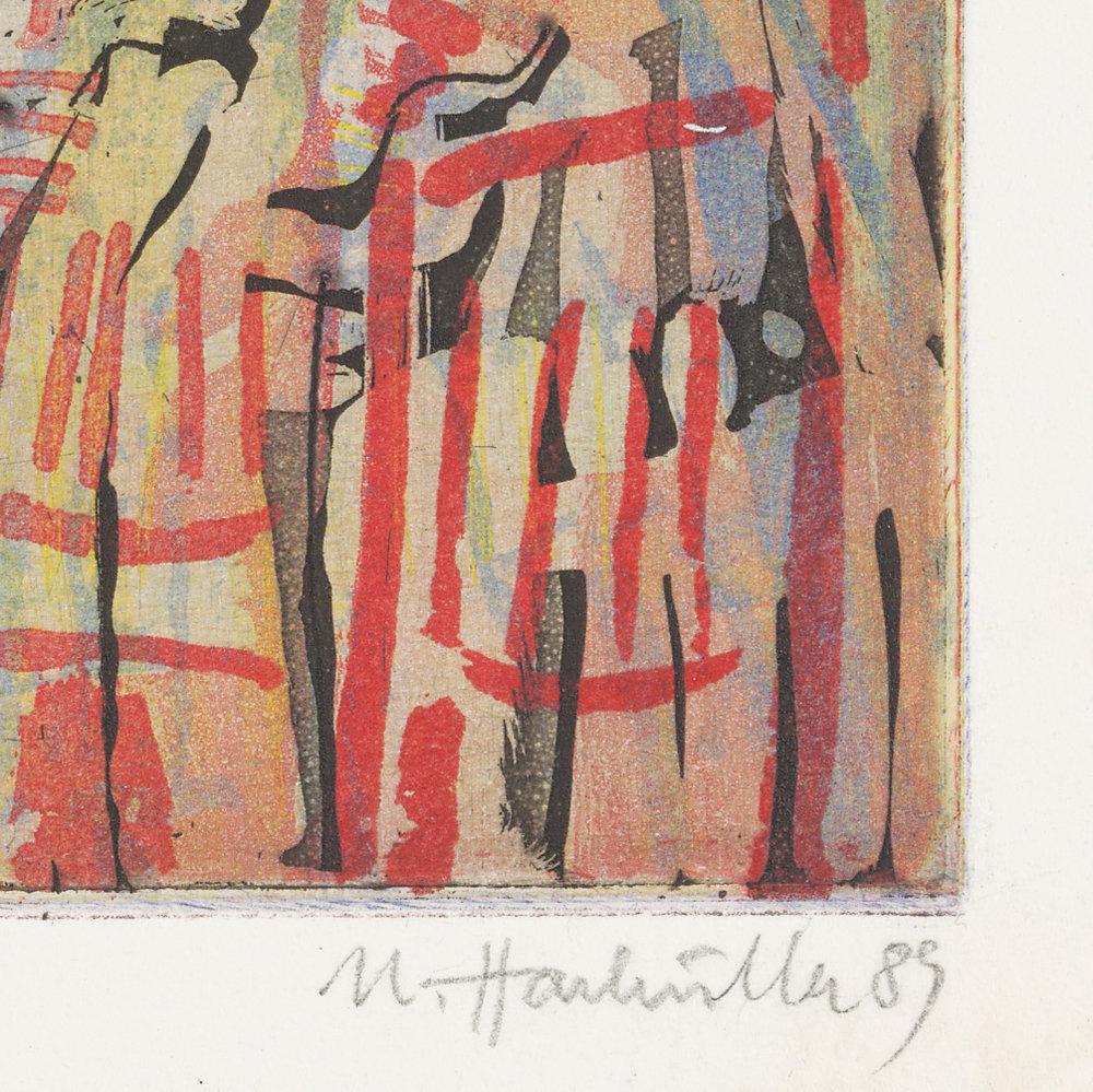 Ulrich Hachulla, An der Basilika, 1989 (Detail)