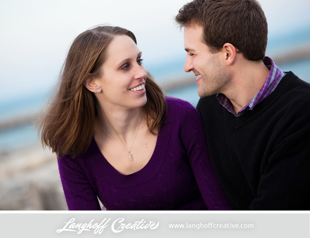 """We asked Matt and Erin what their secret to relationship success is. They responded, """" Good communication is key...and lots of laughing and joking around—not taking ourselves too seriously. We think communication and sharing a sense of humor are the two most important aspects to keeping a relationship alive."""""""
