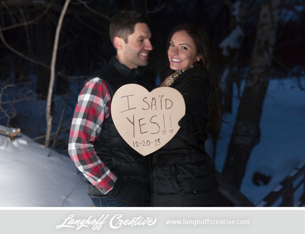 "On December 20, 2013 (about six months into their relationship), Ryan popped the question. Nicole's simple, ""yes"" changed the very paths of their future. Sometimes it doesn't take long to discover the thing that you simply can't live without. Ryan and Nicole, you are beautiful together—your love is inspiring and reminds us all to enjoy each moment to the fullest. We are so excited to celebrate with you at your wedding and to capture each special moment as it unfolds."