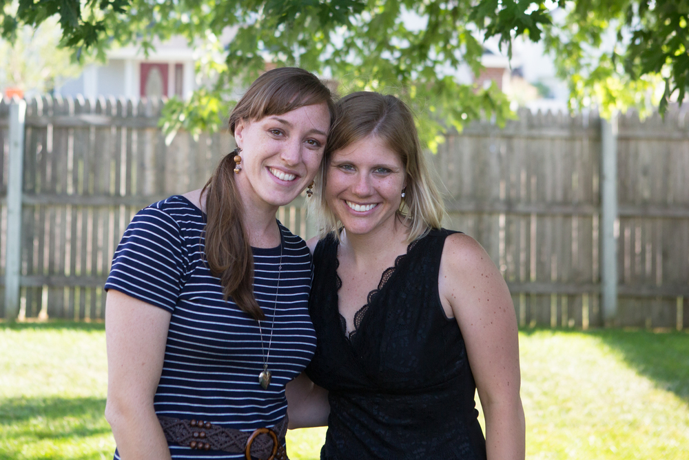 Amanda and I were college roommates all 4 years and have remained extremely close ever since. This was a tough goodbye!