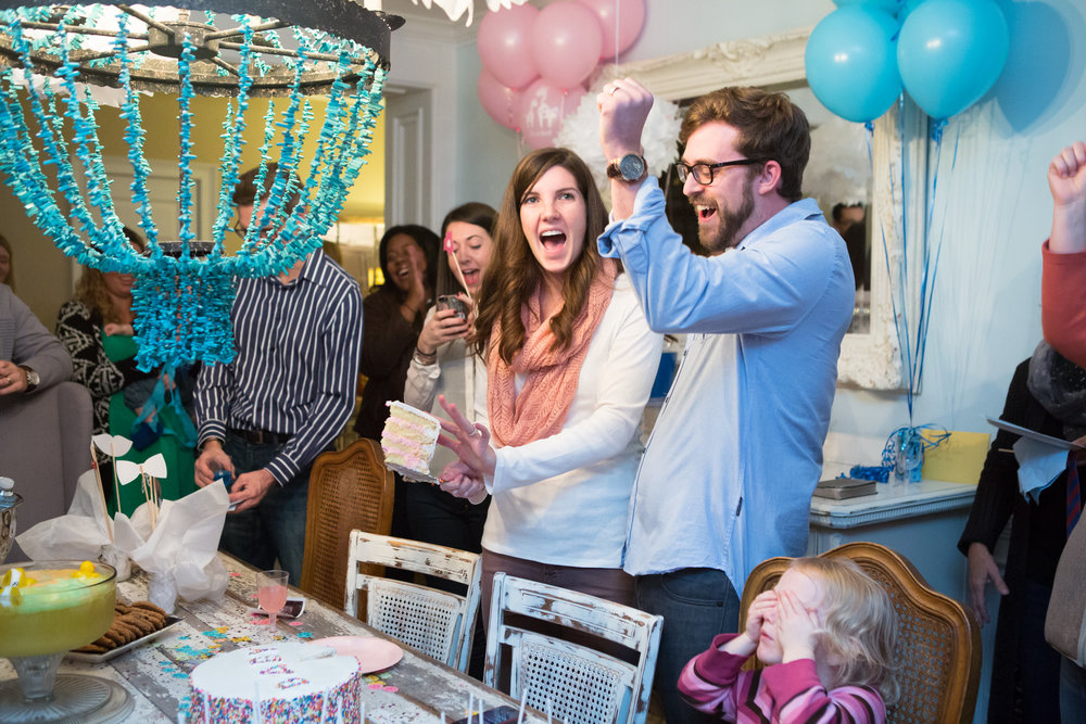 SIDE NOTE: We had a blast at Jacob & Ashlee's Baby Gender Reveal Party on Nov 17th. They found out along with all of us guests when they cut their cake & it turned out to be pink.  View the full gallery of the party images here »
