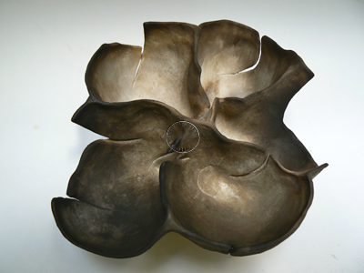 Primitive fired stoneware