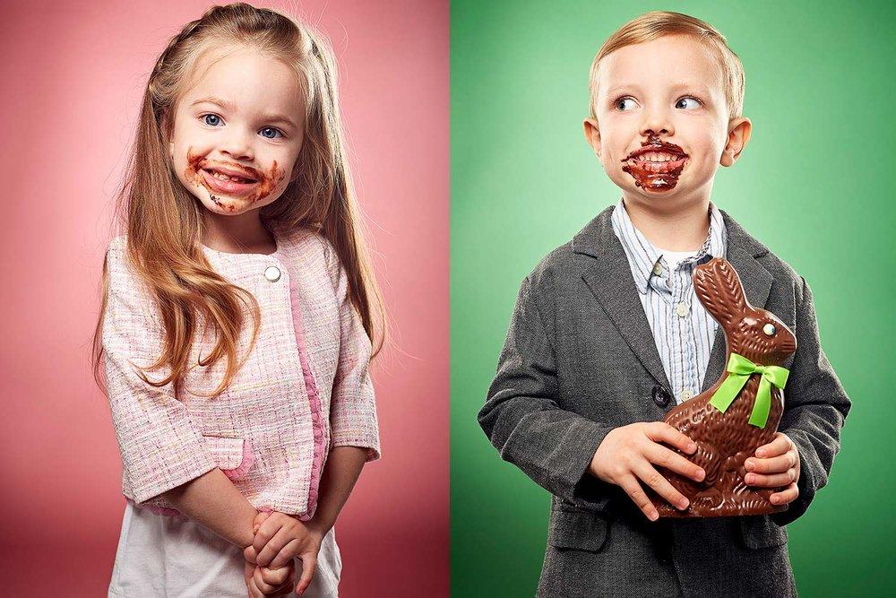 conceptual childrens studio portrait photography chicago