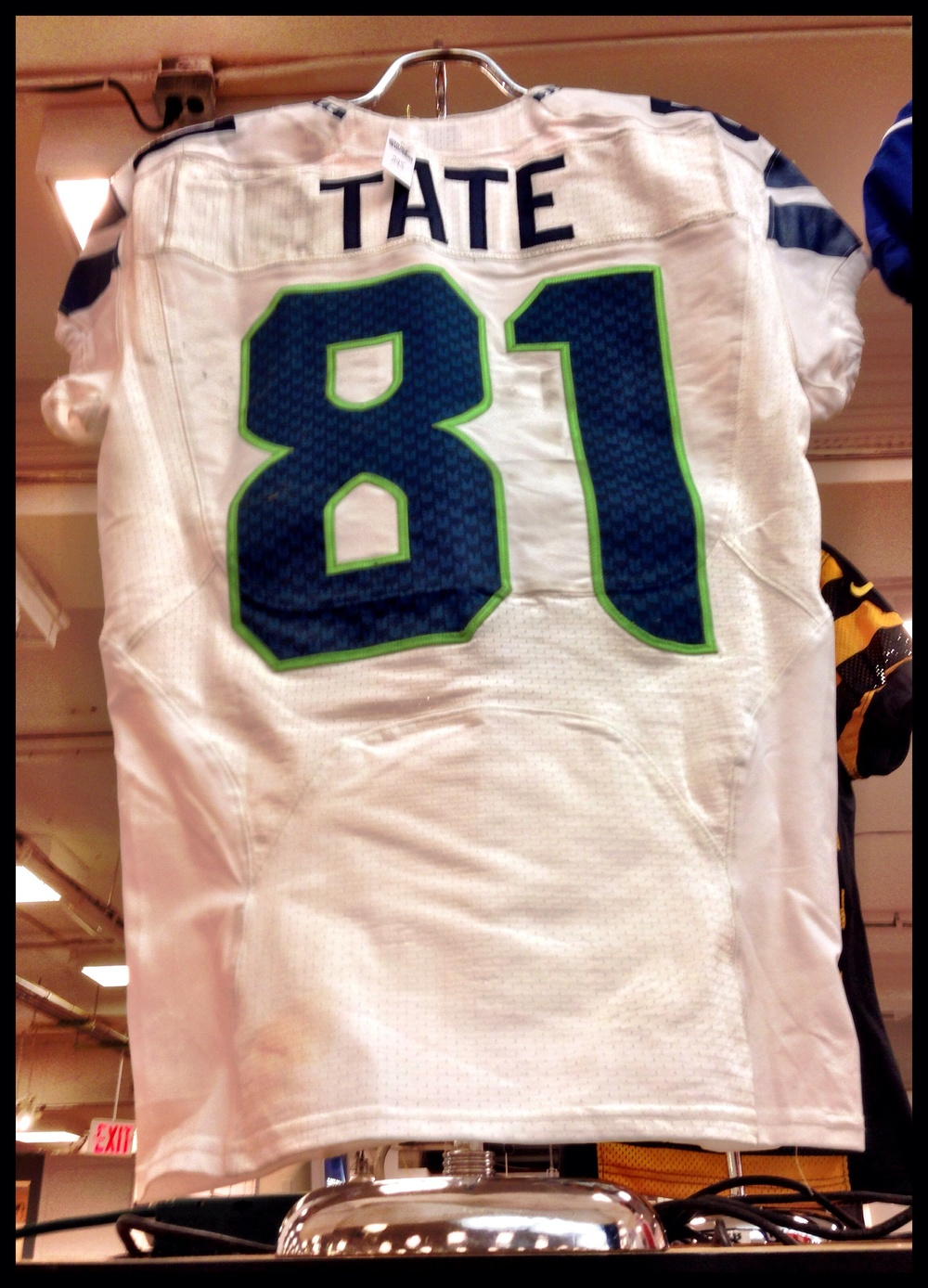 """Game Day"" Golden Tate jersey"