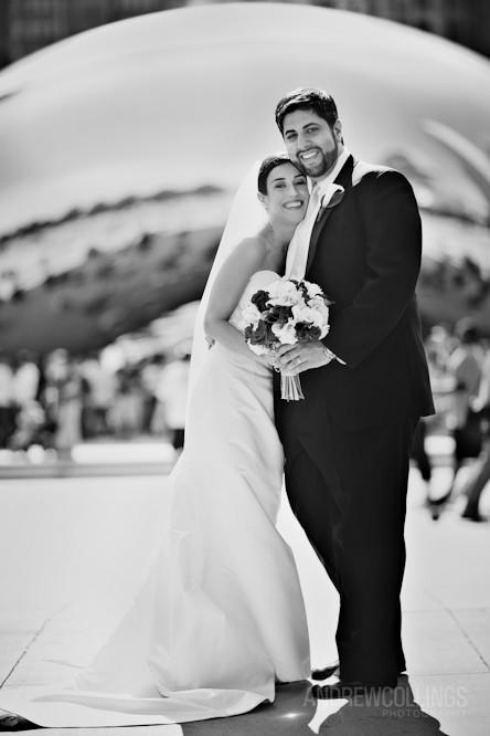 Millennium Park Wedding 090523 6637