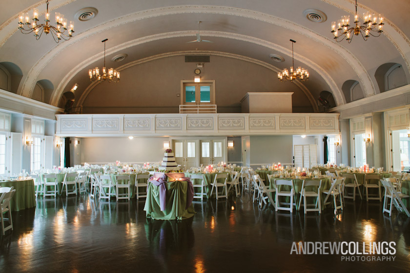 Wedding photograph at The Woman's Club of Evanston, Evanston, IL. May 12, 2012