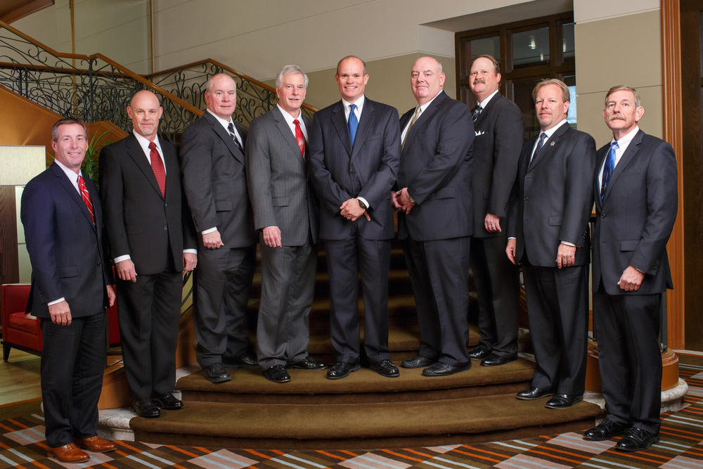 The Kirlin Group: group of executives at the Renaissance Hotel. November 1, 2012. Photo by Andrew Collings.