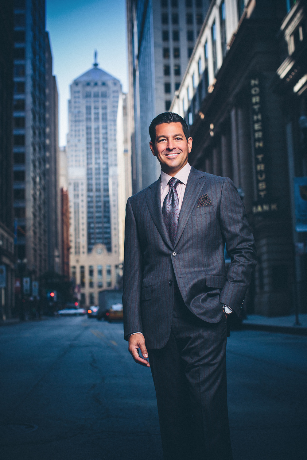 LaSalle Street Executive Portrait