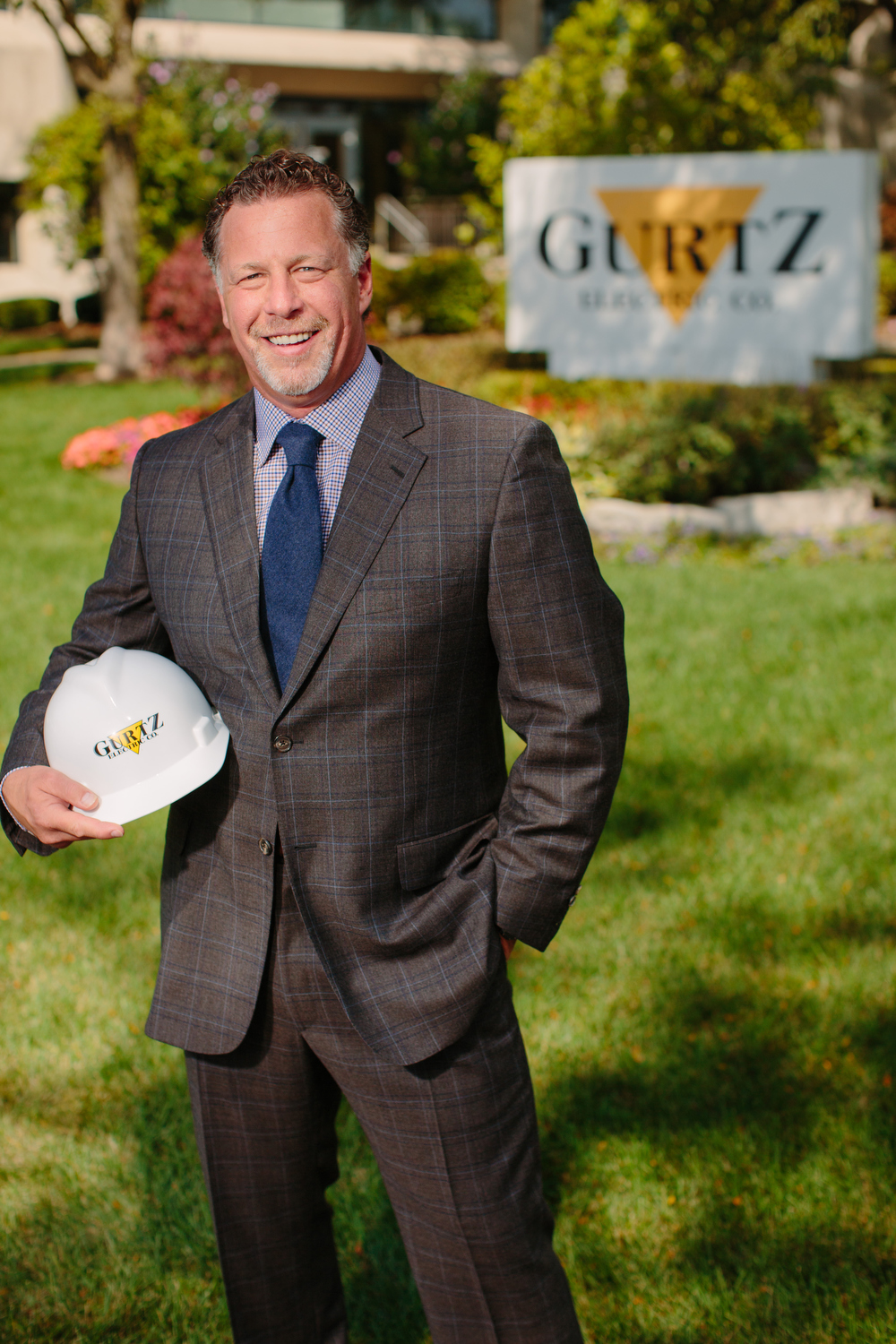 Outdoor Construction Executive Portrait