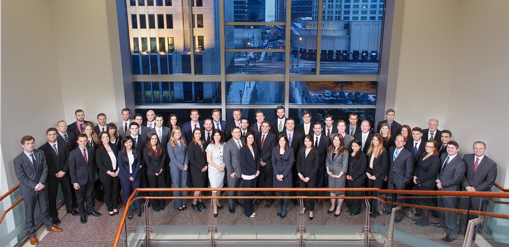 Corporate group portrait photo of MultiCare Consulting Services at The Gleacher Center January 29, 2014